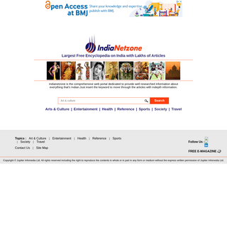 Free Encyclopedia & Web Portal on Indian Culture & Lifestyle