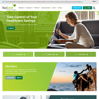 Health Savings Accounts - A Trusted Leader in Consumer-Directed Healthcare - HSA Bank