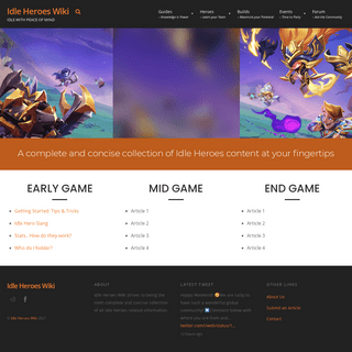 Idle Heroes Wiki – Idle with peace of mind