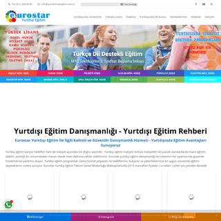 Eurostar Yurtdışı Eğitim - Yurtdışında Türkçe Eğitim
