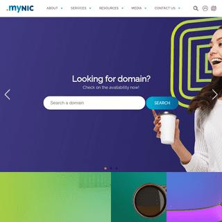 Homepage - MYNIC