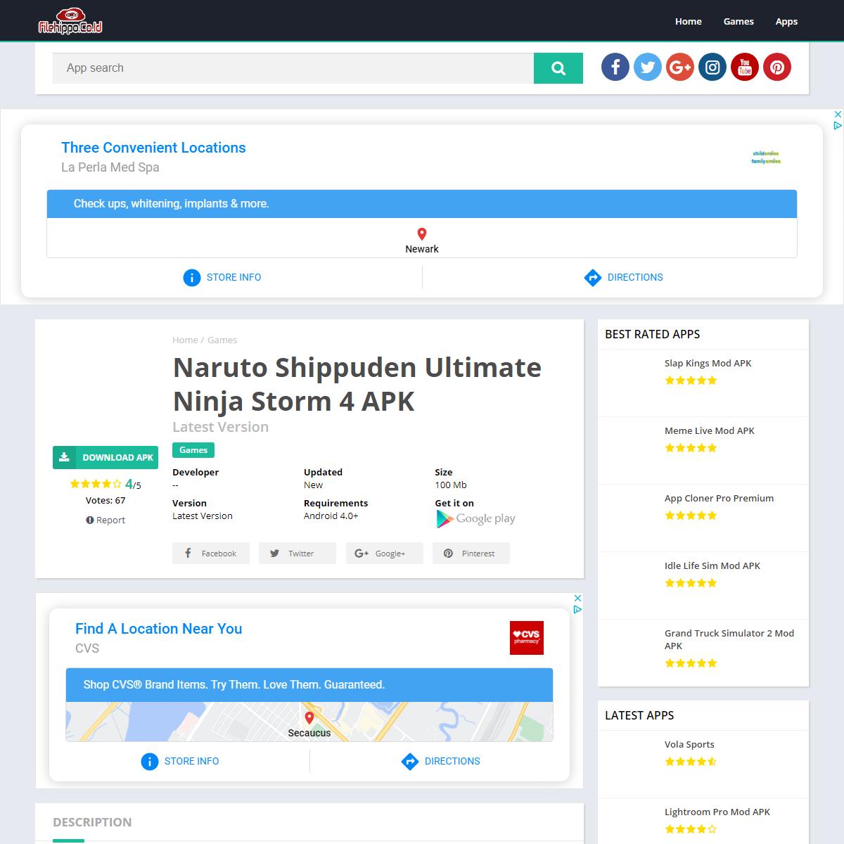 Naruto Shippuden Ultimate Ninja Storm 4 APK – FileHippo