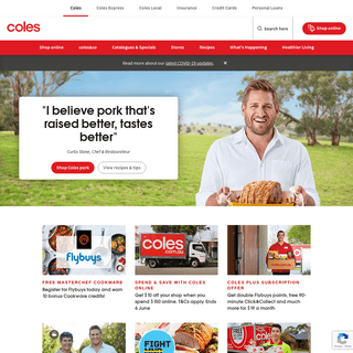 Coles - Recipes & Meal Inspiration - Weekly Deals Catalogue