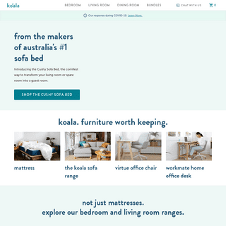 Koala Furniture - Shop Online for Mattresses & Furniture with Free Express Delivery