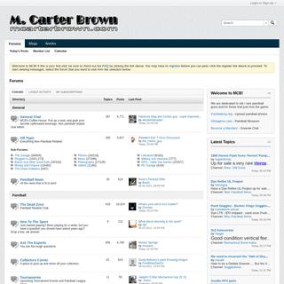 Forums - mcarterbrown.com