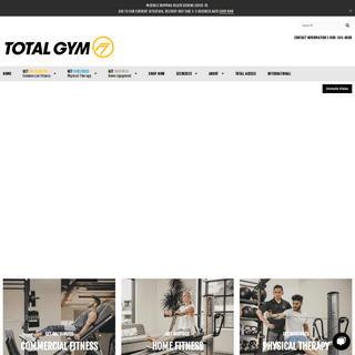 Total Gym - The World Leader in Incline Bodyweight Training – Total Gym® - Global Leader in Functional Training Since 1974
