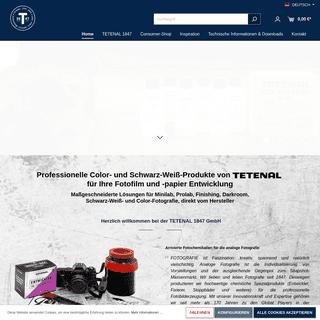 TETENAL Color und S-W Chemie für Darkrooms, Minilabs und Fachlabore - Innovative Prozesschemikalien