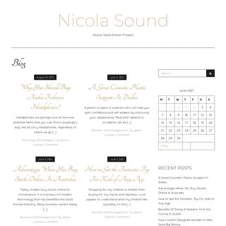 Nicola Sound - Nicola Tesla Dream Project