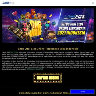SItus Judi Slot Online Terpercaya 2021 - Daftar Agen Slot Terbaik