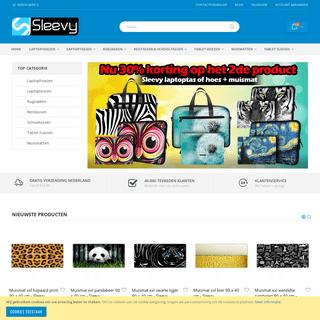 Sleevy- laptophoezen, laptoptassen, tablet hoezen, 300+ designs