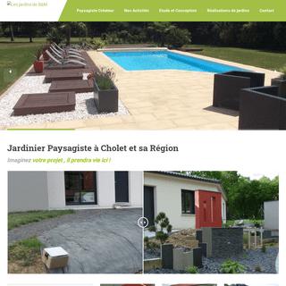 Paysagiste à Cholet - l`Entretien de Votre Jardin - Les Jardins de B&M