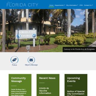 Home - City of Florida City