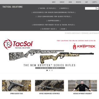 Tactical Solutions Inc. - Main Page