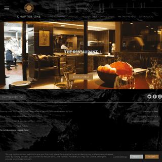 Chapter One - One Michelin Star Restaurant, Dublin, Ireland