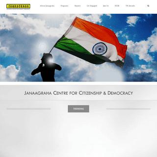 Janaagraha - Home
