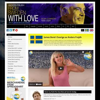 James Bond Sverige - Allt om agent 007 och BOND 25 nyheter