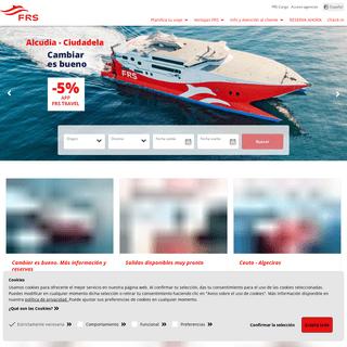 FRS Ferry - Naviera FRS Ferry - Grupo Naviero - FRS Group
