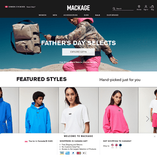 MACKAGE - MACKAGE.com for the largest selection of down coats, parkas, leather jackets, wools coats and winter jackets for women