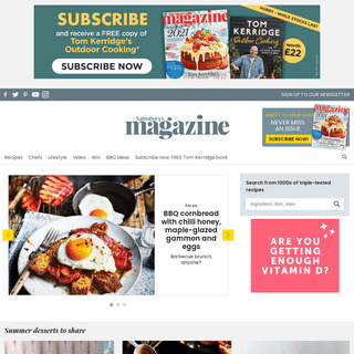 Recipes and cooking tips - Sainsbury`s Magazine
