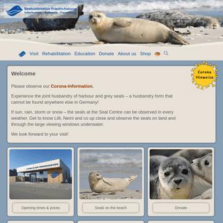 Start — Seehundstation Friedrichskoog