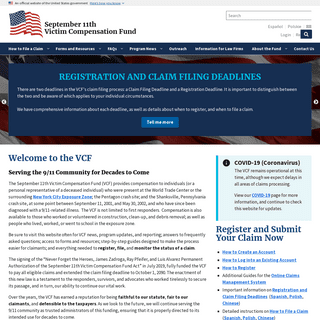 Homepage - VCF