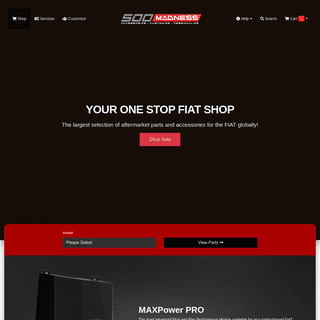 500 MADNESS - Auto Parts and Accessories