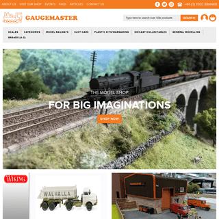 www.gaugemaster.com - The Model Shop for Big Imaginations