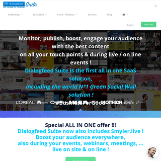 Dialogfeed-Social Wall-UGC-DigitalSignage-Event-Webinar -