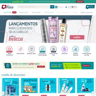 Farmácia online 24 horas - Droga Raia