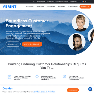 Verint- Customer Engagement Leaders