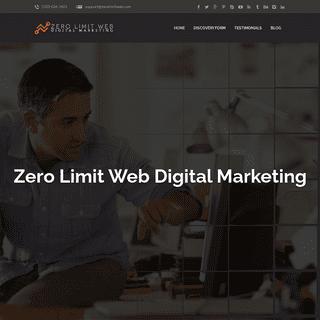 Zero Limit Web- SEO & Digital Marketing Agency