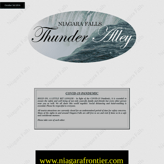 Niagara Falls Thunder Alley
