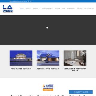 Home Extensions, Renovations & Additions Perth - LA WEBB