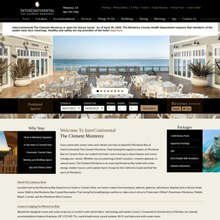 Monterey Bay Hotel CA - The InterContinental The Clement Monterey