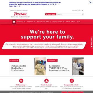 The Official TYLENOL® Canada Website - TYLENOL®