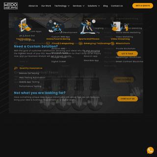 Ecommerce Website Development Services - Mobile App Development Services