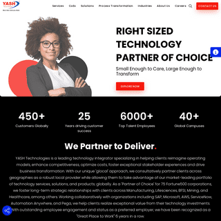 YASH Technologies - Digital Solutions - IT Solutions