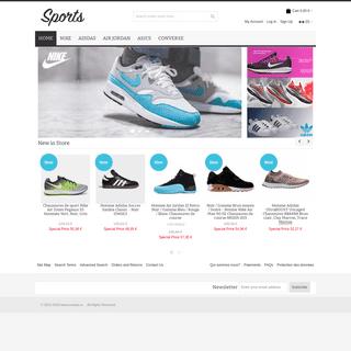 Chaussures Nike-Adidas-Air Jordan-Asics-Converse Site Officiel