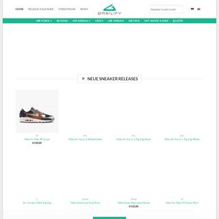 Sneaker News von Grailify (inklusive Sneaker Release Kalender!)