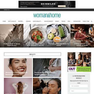 woman&home - The latest fashion & beauty,easy recipes & irresistible inspiration