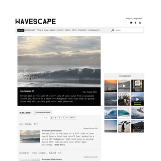 Wavescape - Surfing in South Africa -