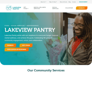 Lakeview Pantry - Food for Today, Hope for Tomorrow