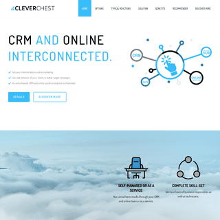 Cleverchest.com – Corporate CRM and online. Interconnected.