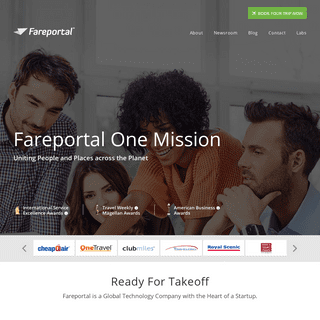 Fareportal – Uniting People and Places across the Planet