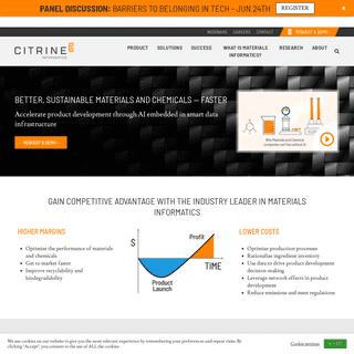 Citrine Informatics- The AI Platform for Materials Development
