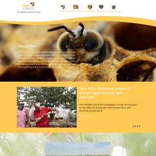 Homepage - Bee Careful