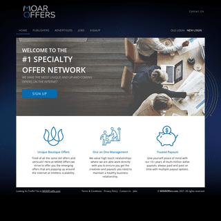 MOAR Offers - Affiliate Program for Webmasters