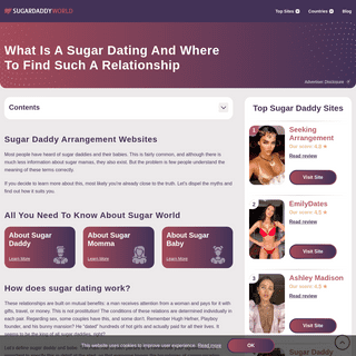 What Is Actually Sugar Daddy And What Does He Do For His Babe- - feb 2021