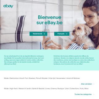 ebay.be - eBay België, eBay Belgique
