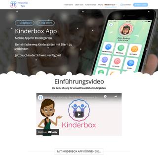 Kinderbox App – Preschool App